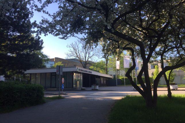Eingang Klinik Altona