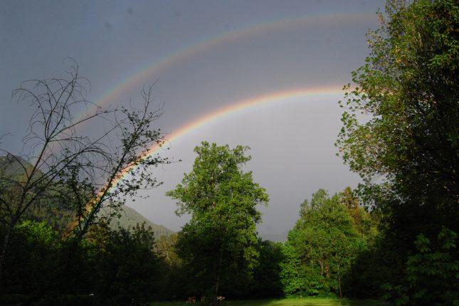Ohne Regen kein Regenbogen