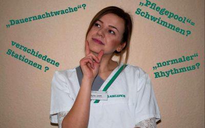 Arbeitsalltag von Gesundheits- und Krankenpflegern